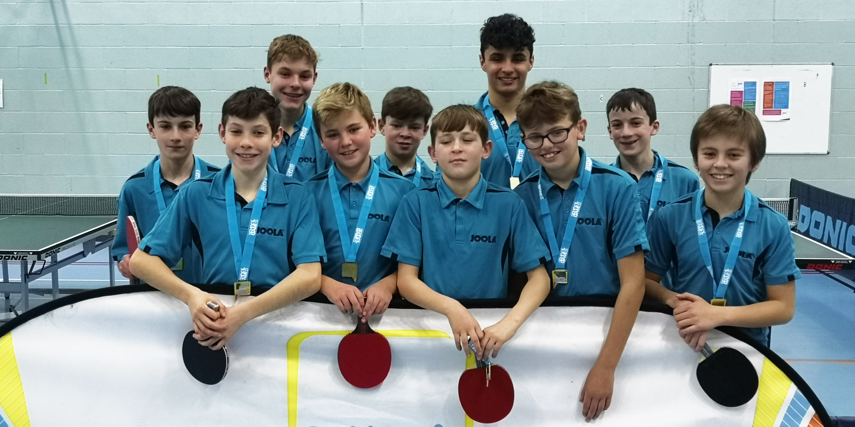 Table Tennis County Champions 6th Year in a Row